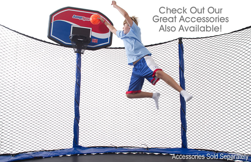 Jumpsport 14ft Powerbounce Trampoline With Enclosure