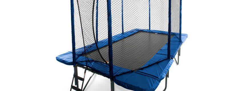 A 10x17 JumpSport Rectangular trampoline