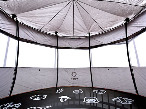 The inside of a vuly tent ... & Vuly Thunder Trampoline - Tent | Air Trampolines