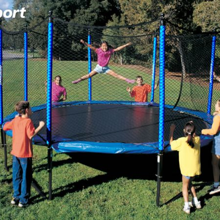 12 Foot Propel Trampoline With Enclosure Air Trampolines