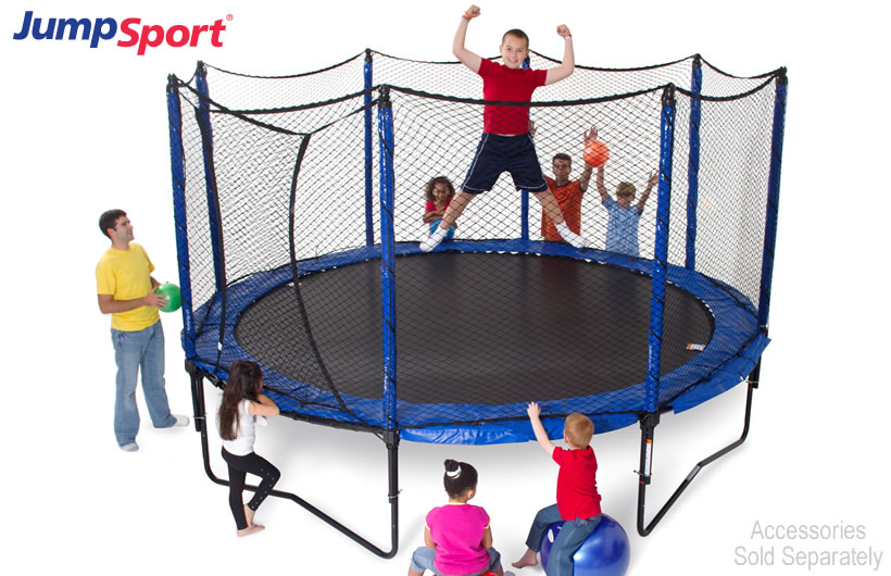 Jumpsport 12ft Stagedbounce Trampoline With Enclosure