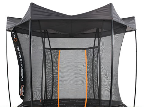 ... tr&oline tent tie strap Vuly 2 tent detachable rain cover ...  sc 1 st  Air Tr&olines & Vuly Thunder Trampoline - Tent | Air Trampolines