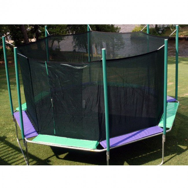 Magic Circle 16 Foot Octagon Trampoline With Enclosure