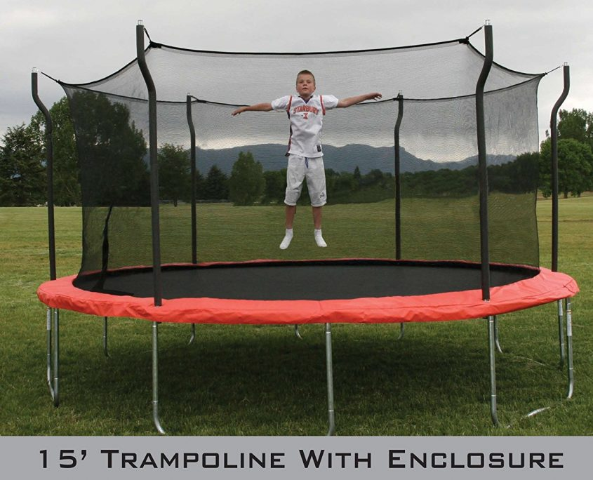 15 Foot Propel Trampoline With Enclosure Air Trampolines