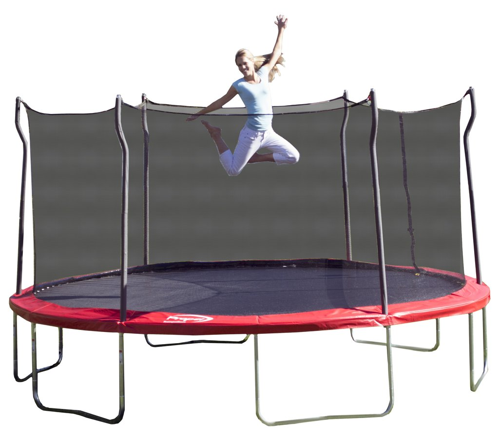 Kidwise Jumpfree 15 Ft Trampoline And Safety Enclosure: 15 Foot Propel Trampoline With Enclosure