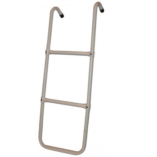 A two step ladder made by Propel against a white background