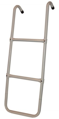 Propel ladder with two steps against white background